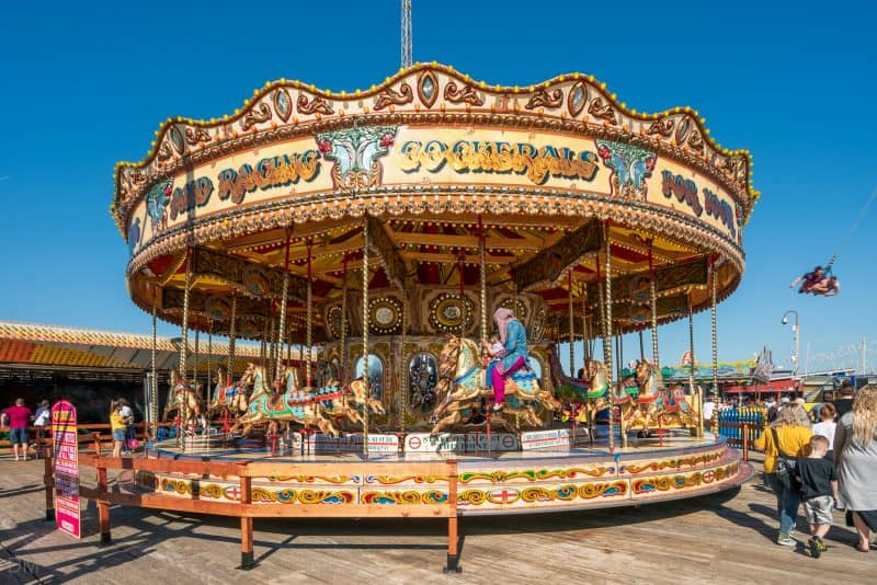 Carousel at South Pier Blackpool.