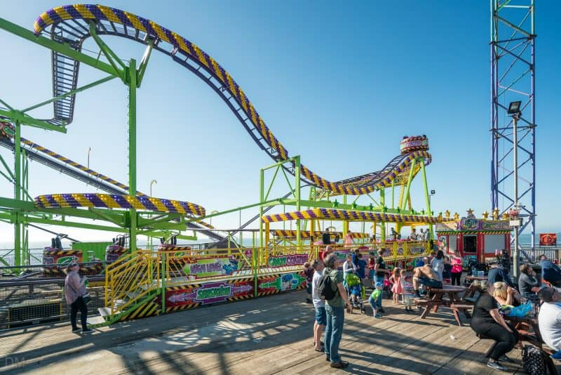 Photo of Crazy Coaster, South Pier Blackpool.