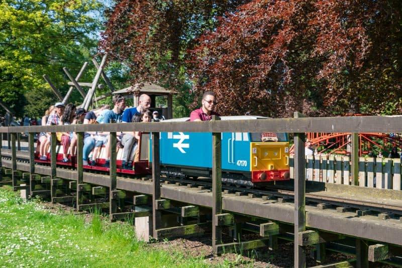 Grosvenor Park Miniature Railway, Grosvenor Park, Chester