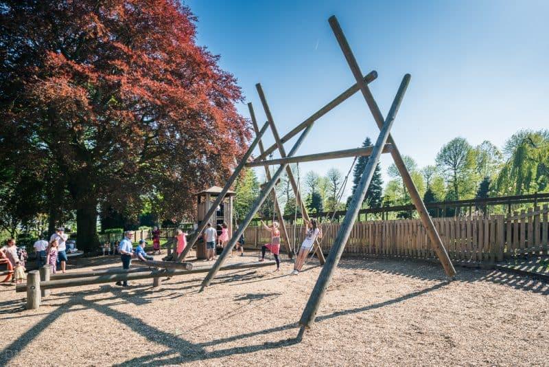 Playground at Grosvenor Park, Chester