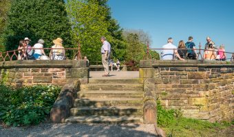 Belvedere viewing platform at Grosvenor Park, Chester
